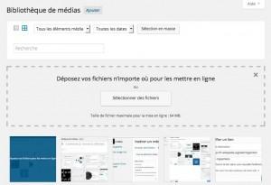 Bibliothèque Média Parcourir