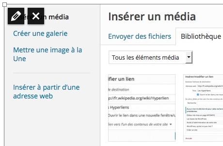 Modifier ou Supprimer un Média dans WordPress